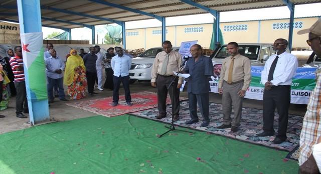 Réfugiés du Yemen- Remise de Clefs pour 4 véhicules